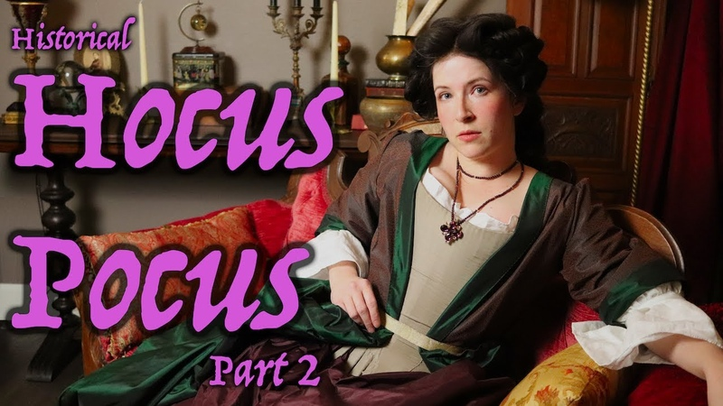 Sewing a Historically Accurate Hocus Pocus Costume 2 Making the Mantua Gown
