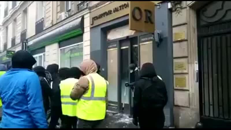 Casseurs immigres