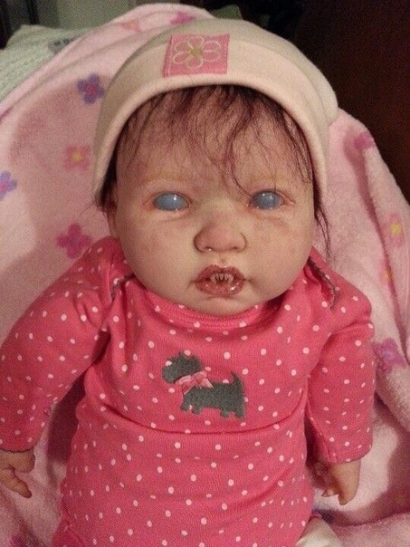 Американка Джулия Хэмилл вручную создаёт самых страшных кукол на свете Выглядит очень жутко Хотели бы себе такую