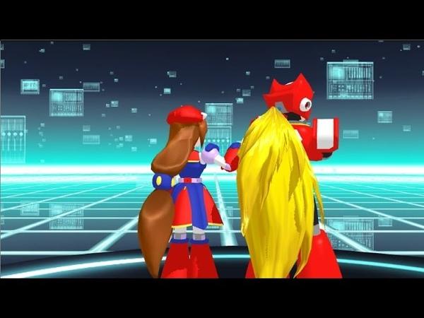 {MMD} Megaman x Ver Matryoshka Rap