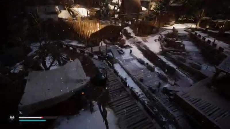 Попадание стрелы в Assassin's Creed Valhalla vs Assassin's Creed 1