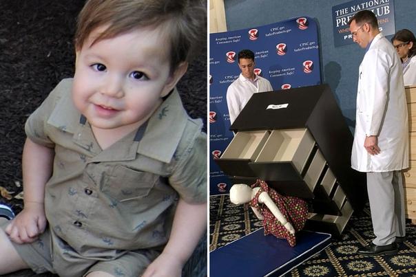 Как выгодно родить ребёнка. Три года назад 2-летний Джозеф Дудек из Калифорнии стал жертвой непредвиденной трагедии: на него упал комод IEA, сломав ему шею и задавив.Позже его родители - Джолин