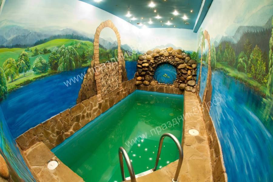 Сауна Царские бани на Маяке в Пензе, описание, фотографии, цены.