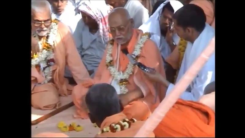 Harikatha at Nrisingh Palli by Srila Gurudev, English (2004) and Hindi (2005)
