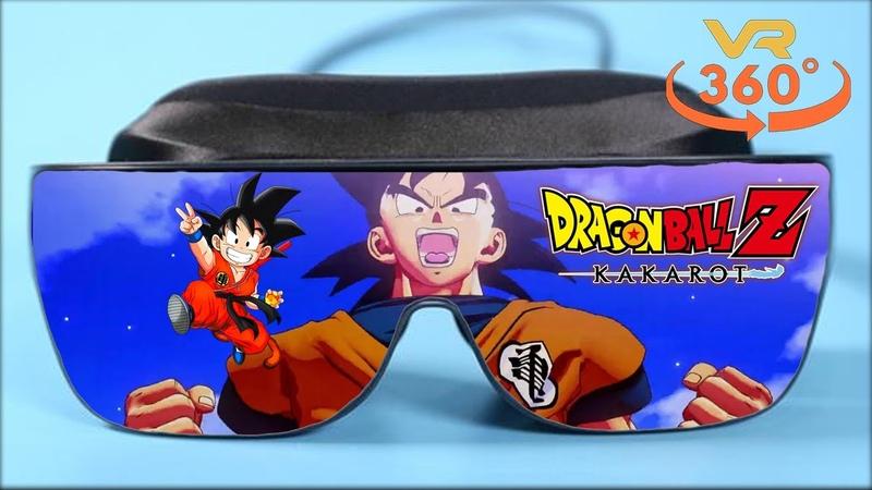 Dragon Ball Z Kakarot VR 360° 4K Virtual Reality Gameplay