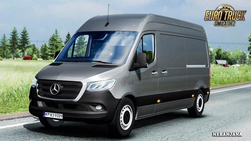 ETS 2 Mod Mercedes Sprinter 2019 BETA 0 1 ETS2 v1 36