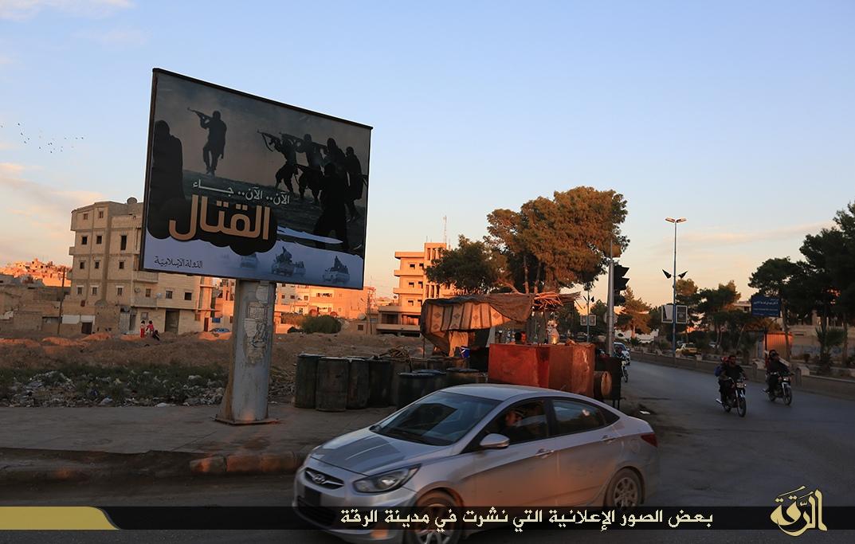 «Сейчас, сейчас началось сражение.» Это относится к названию выступления официального представителя ИГ Абу Мухаммед аль-Аднани.