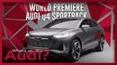 World premiere   Audi Q4 Sportback e-tron concept   New Audi Q5   What's up, Audi? 34
