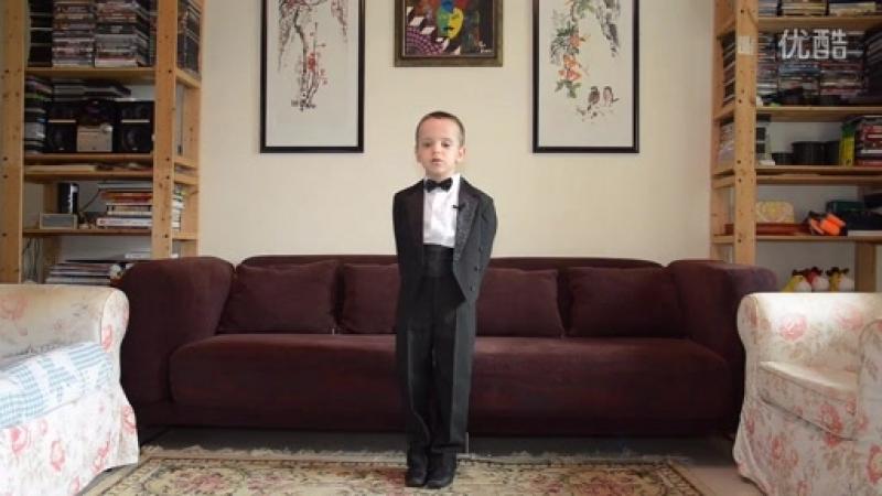 6岁俄罗斯小孩叶伟国(Gordey Kolesov)可以背诵500个中国成语!太震惊了!_标清