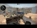 B Arches Smokes from T Spawn - Mirage - 64 Tick
