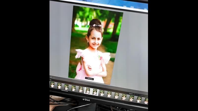 Фотосъемка портретов для фотокниги с экрана ПК