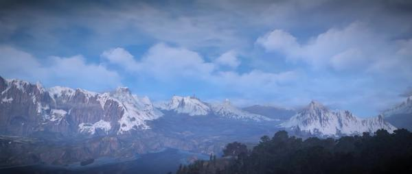 Великолепный мод с гипер-реалистичными облаками для Witcher 3: Wild Hunt