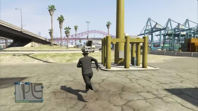 Game Adventures GTA V Online Как в Терминаторе