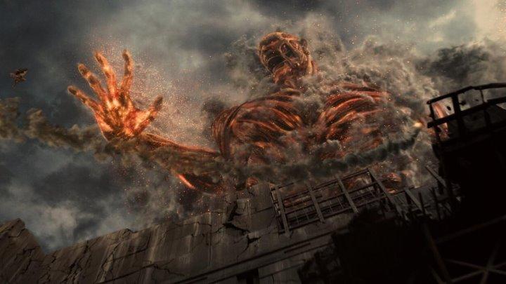 Атака титанов. Фильм второй: Конец света 2015 Боевик Драма Ужасы Фэнтези