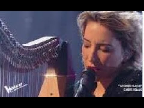 The Voice France 2020 l Gustine l Demi finale l Chris Isaak Wicked Game