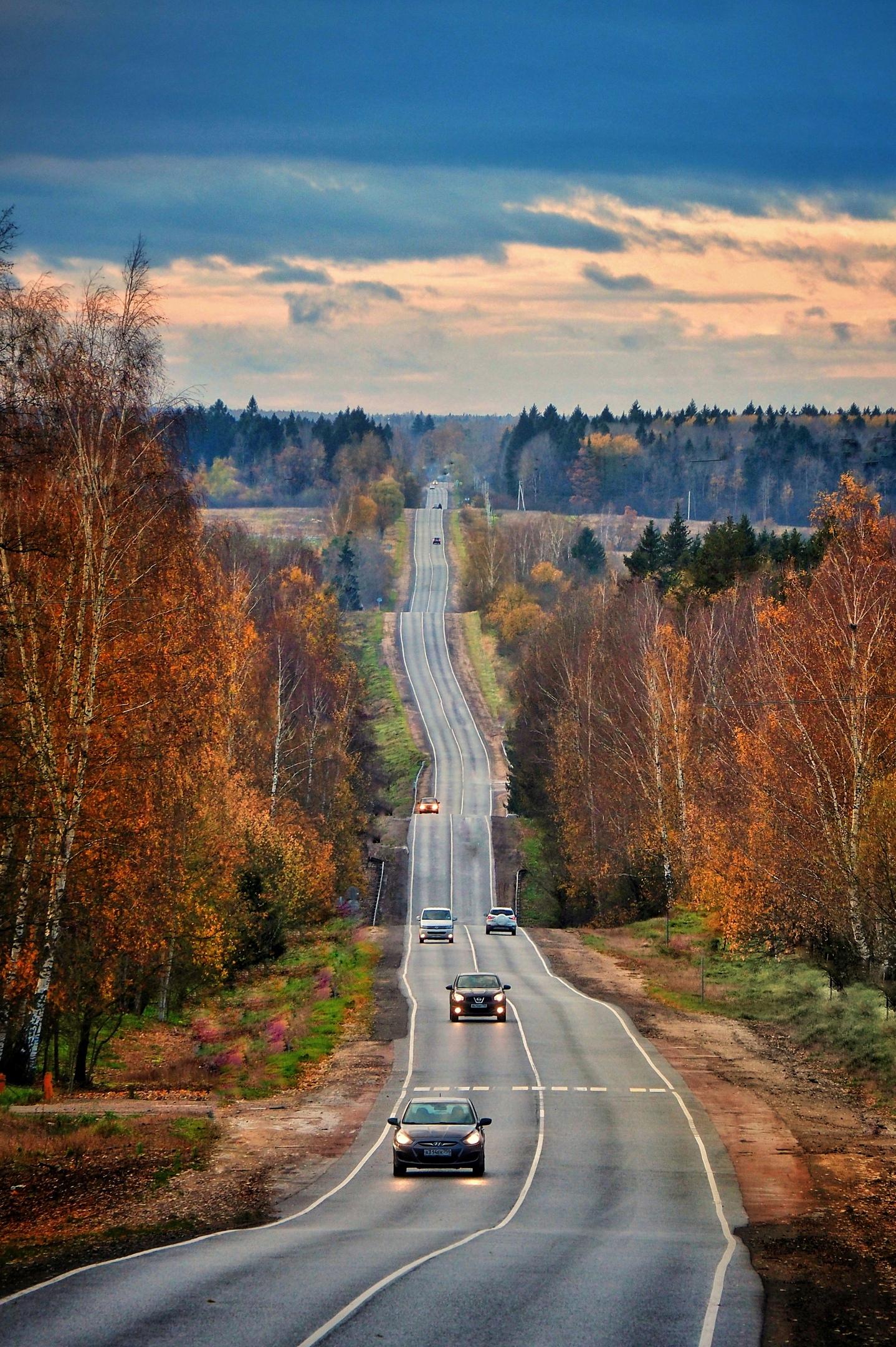 Дорога на Хотьково.