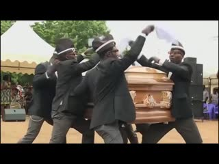 Nigga Dancing meme - Dancing with coffin ( 480 X 480 ).mp4