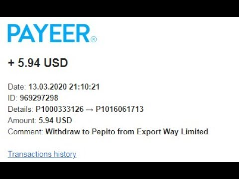 Export Way TODAY Withdraw INSTANT 6 USD PROOF WITHDRAW