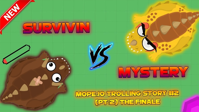 Mope.io TROLLING Story 2 (PT2) LEGENDARY Mope.io REVENGEKARMA To TEAMERS (Funny Mope.io Moments)