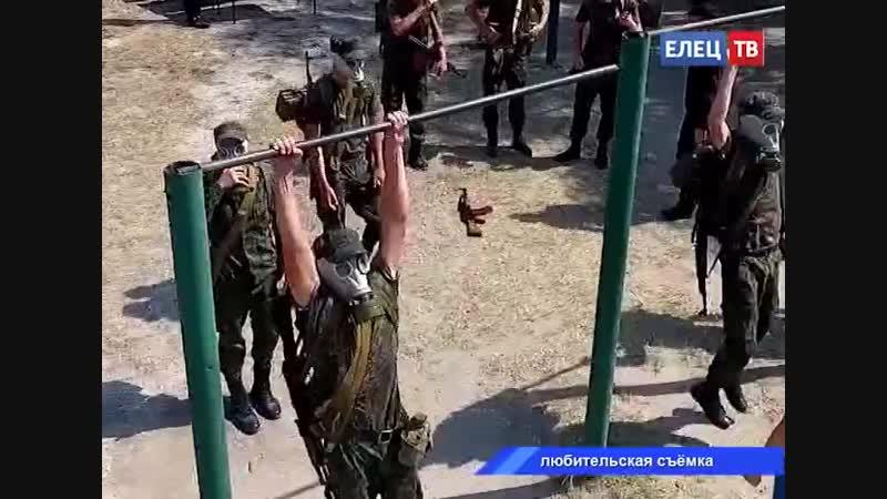 Сборная Ельца вошла в топ-5 первой военно-патриотической игры старшеклассников Союза городов воинской славы РФ