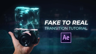 Fake to Real?? | After Effects Tutorial