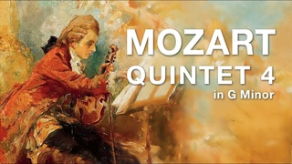 Mozart Quintet No. 4 in G minor | Grand piano + Digital orchestra