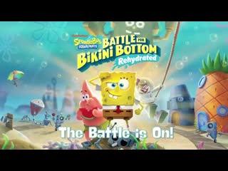 SpongeBob SquarePants:Battle for Bikini Bottom - The Battle is On!