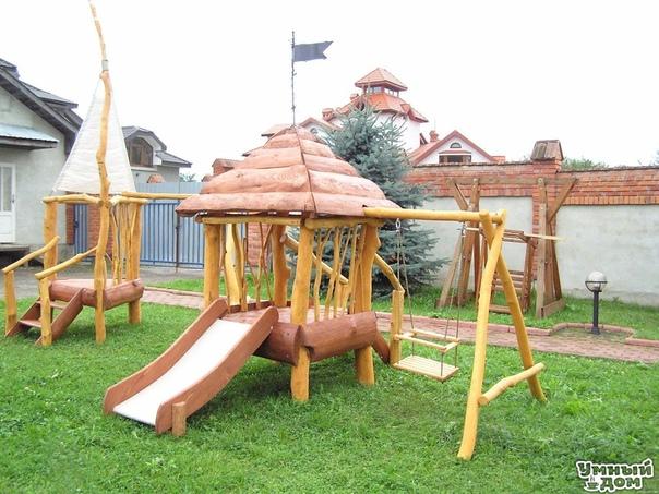 Детская площадка на даче: безопасность прежде всего!