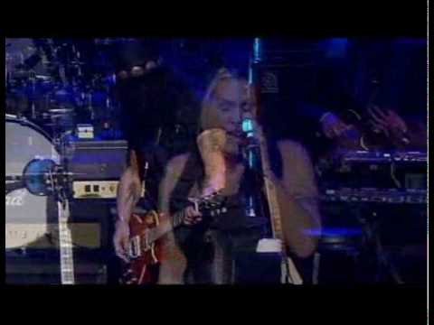 SLASH and BETH HART - Whole Lotta Love - George Lopezs HELP HAITI
