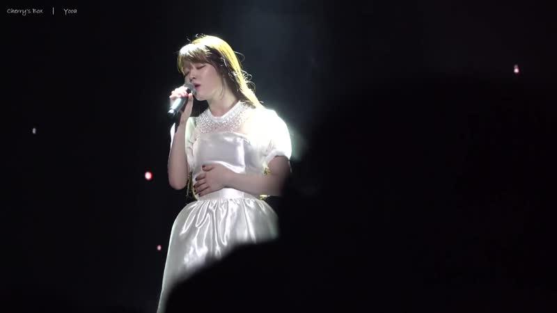 · Fancam · 181020 · OH MY GIRL (Seunghee) - Dear Name (IU Cover) · Второй сольный концерт Fall Fairy Tales - День 1 ·