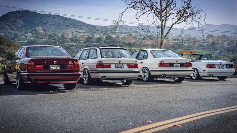 На что способен фанат БМВ Майк и его гараж мечты Сколько стоят BMW M5 E34 и E30 кабрио в идеале