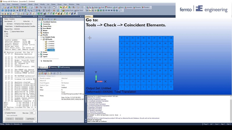 How to debug your Femap PART 7 Asymmetric Stress Results