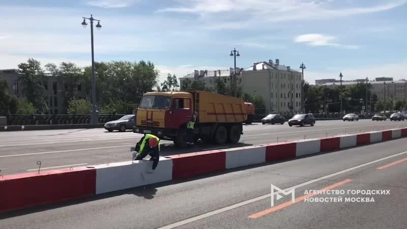 В Москве начался капитальный ремонт Большого Каменного моста