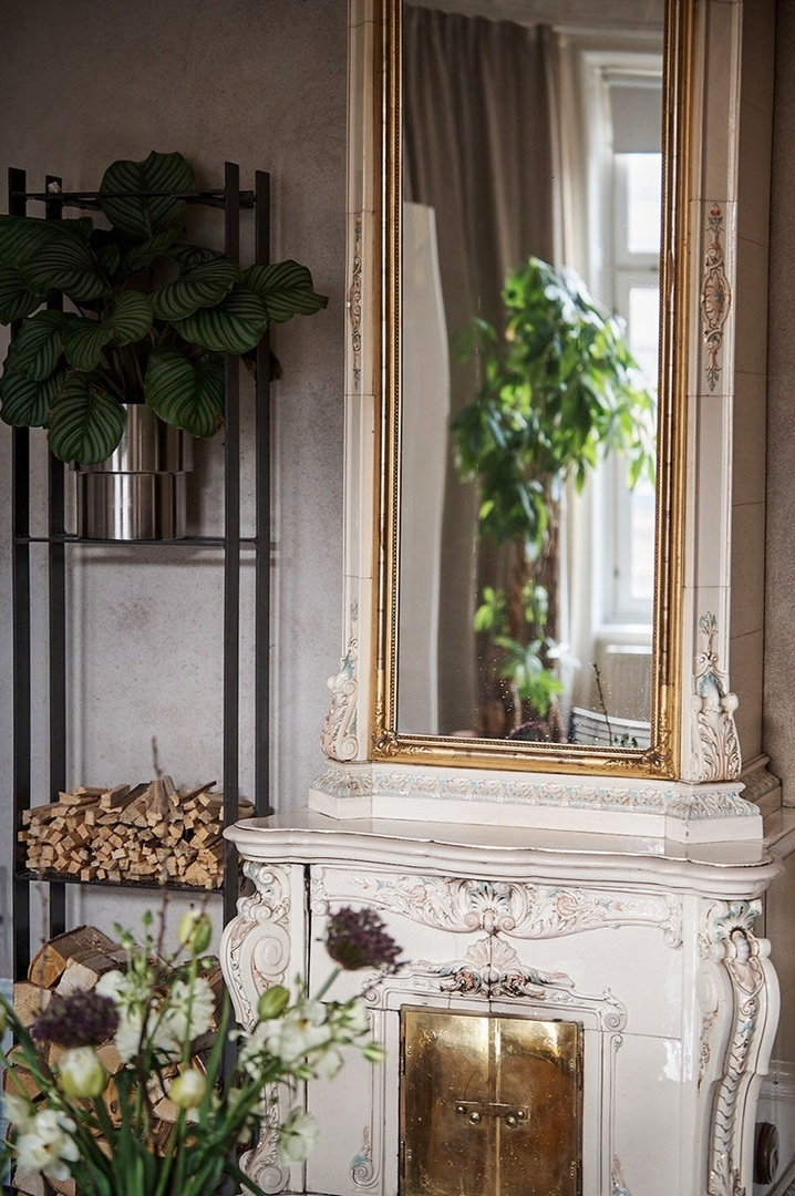 Классика словно в старинном поместье: элегантная квартира в Стокгольме (80 кв.