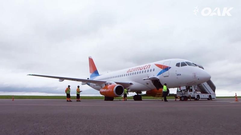 Самолеты Superjet 100 поставят авиакомпаниям Азимут Red Wings и Аэрофлот