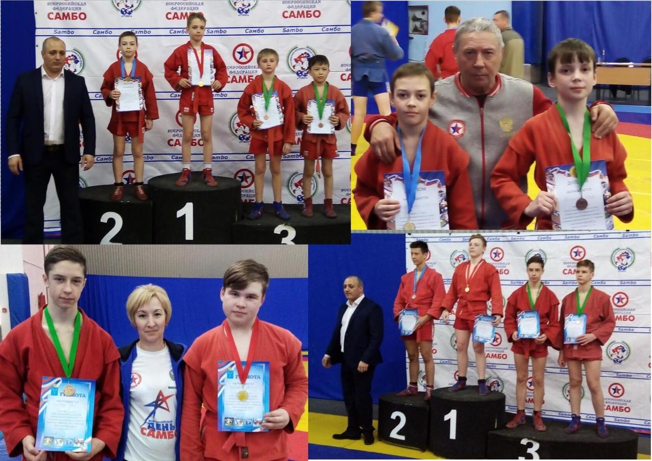 Петровские самбисты стали чемпионами Кубка Саратовской области