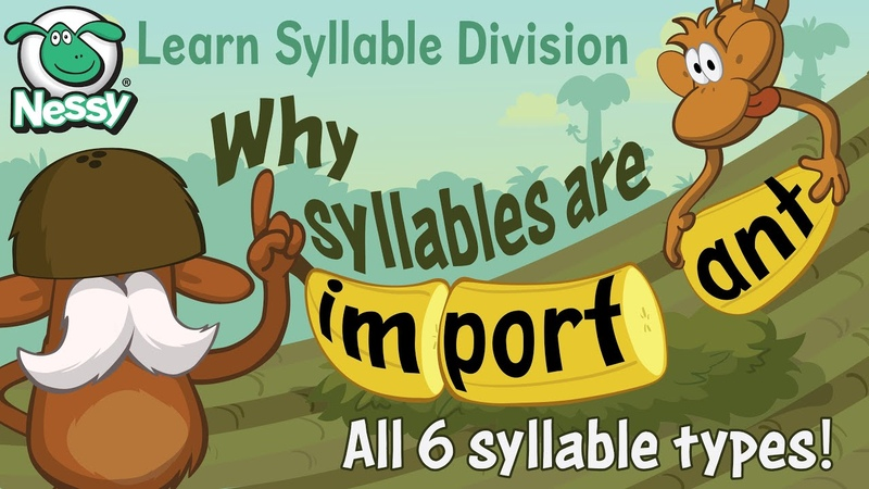 Syllable Division Learn the six rules of syllables Chunking words Learn to Read