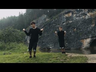 Танец на природе. Пермский край
