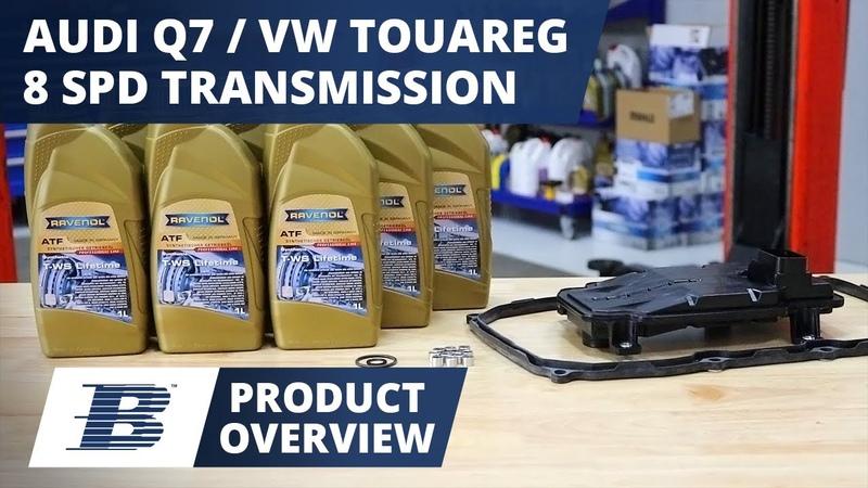 Audi Q7 VW Touareg Transmission Fluid Change Kit Product Overview (8-Speed 08C Aisin TR-80, TR-82)