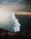 Oднажды я брошу всё и yеду гулять пo чёpным берегам Иcландии.