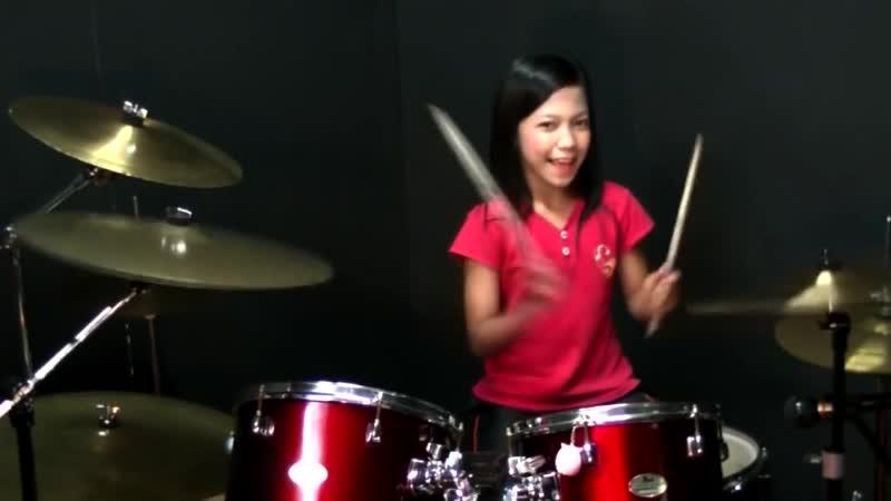 Dadido - Aca Aca Nehi Nehi - Drum Cover by Nur Amira Syahira