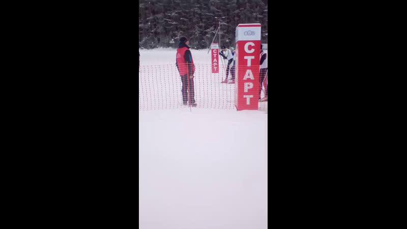 лыжные гонки старт мужчины