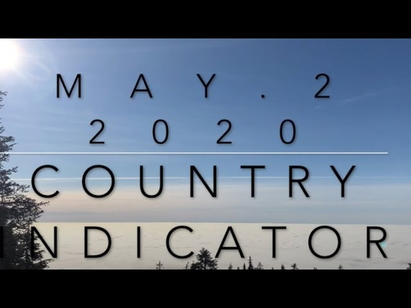 Billboard Top 60 Country Indicator Chart May 2 2020