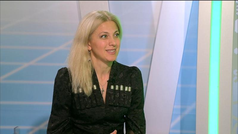 Теа Пертая в эфире программы «Национальный вопрос и — ответ»