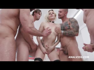 Purged! Brittany Bardot purging White and Clear, with Balls Deep Anal, DAP, ButtRose, Pee Drink and Crempie Swallow GIO1435
