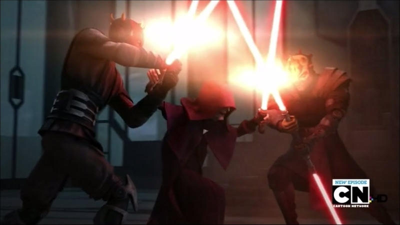 Darth Maul Savage Opress VS Darth Sidious