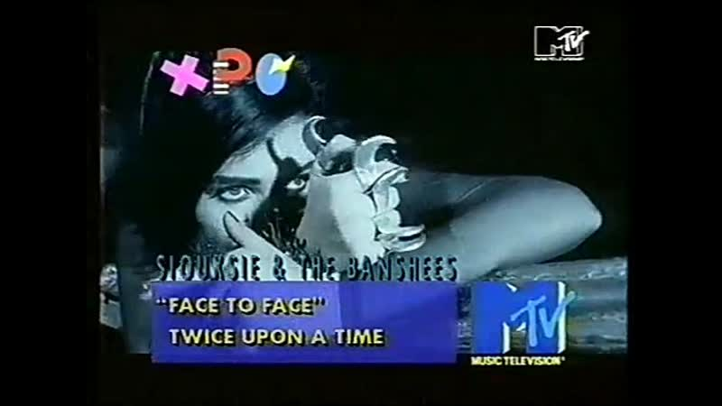 Siouxsie the banshees - face to face mtv