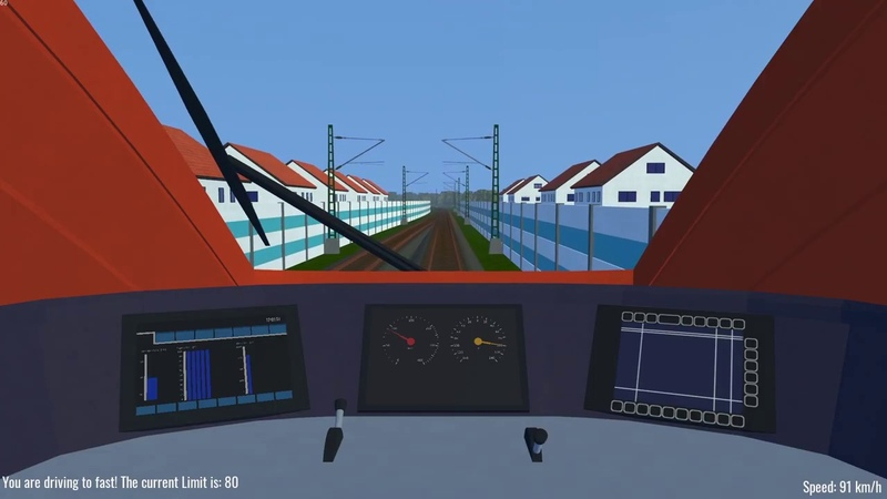 Libre TrainSim Godot Engine MadeTrain Simulator Lets You Steer the S Bahn in Germany Open Source