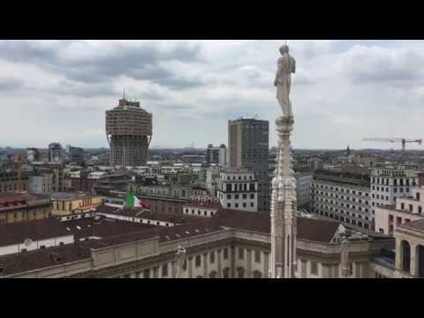 На крыше Миланского собора Duomo di Milano