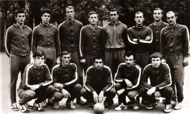 """Команда """"Кунцево"""", 1969 г."""